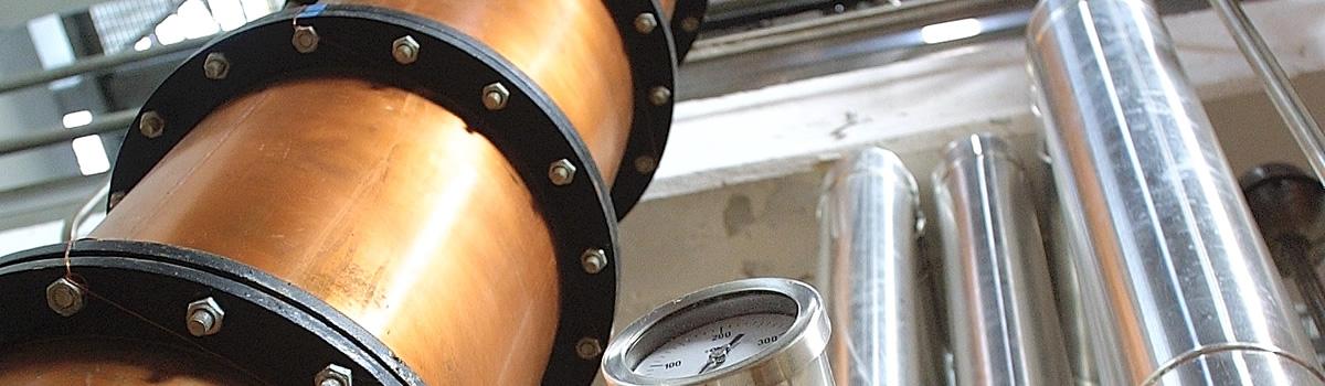 Distilleria Beccaris: gli impianti di distillazione