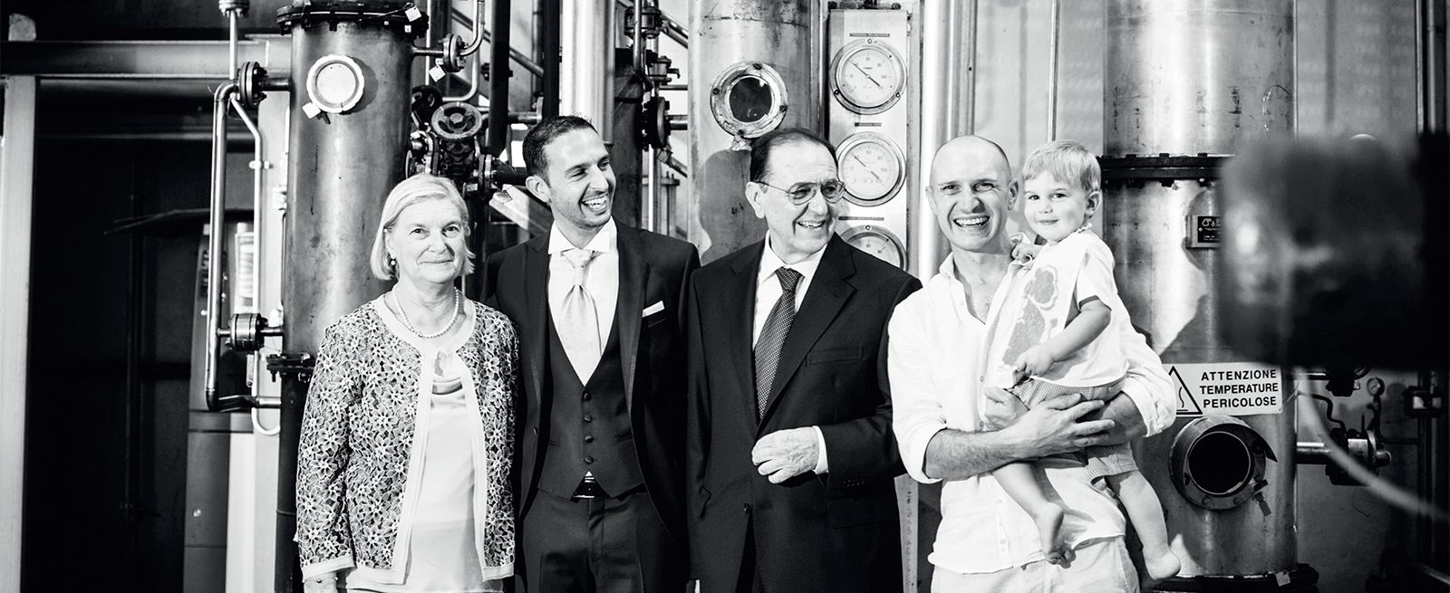 La famiglia Beccaris.